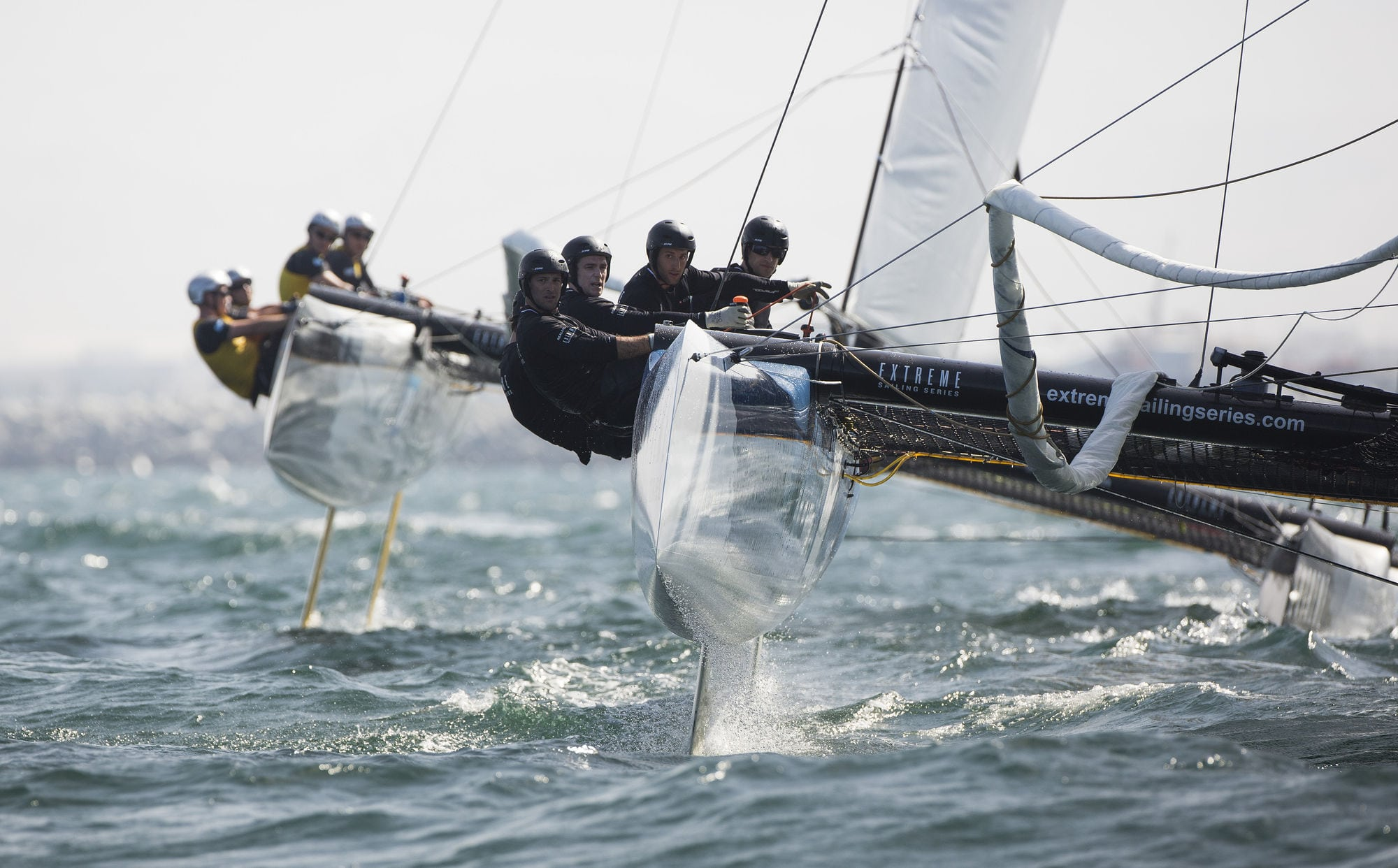Extreme Sailing Series heads to the Far East for Act 2, Singapore
