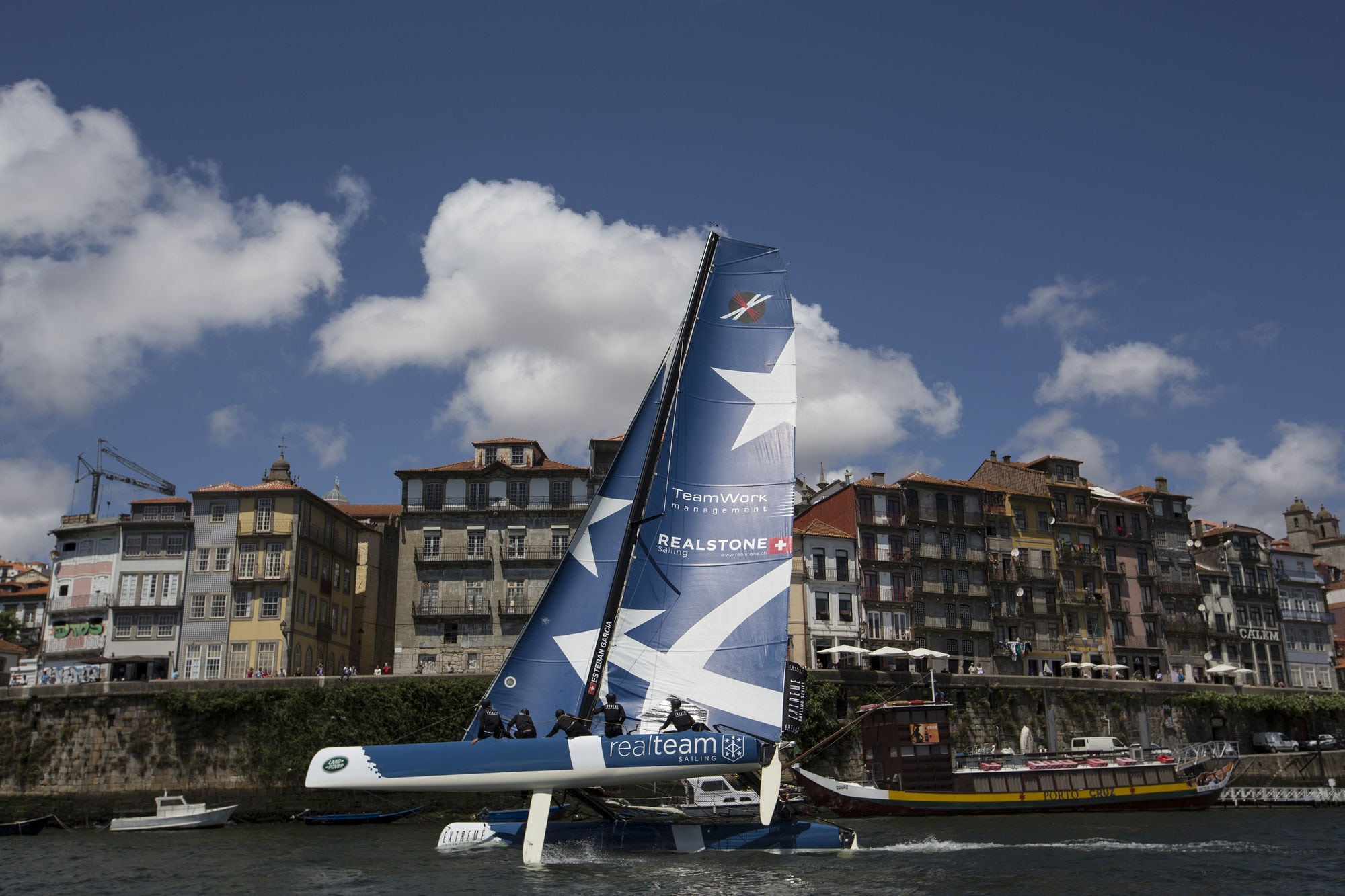 First international podium finish for Realteam at Porto Extreme Sailing Series