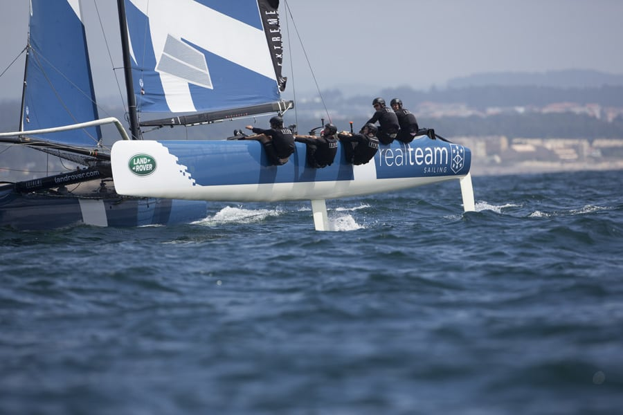 Realteam quietly ambitious as it heads to Cardiff for Act 6 of the Extreme Sailing Series