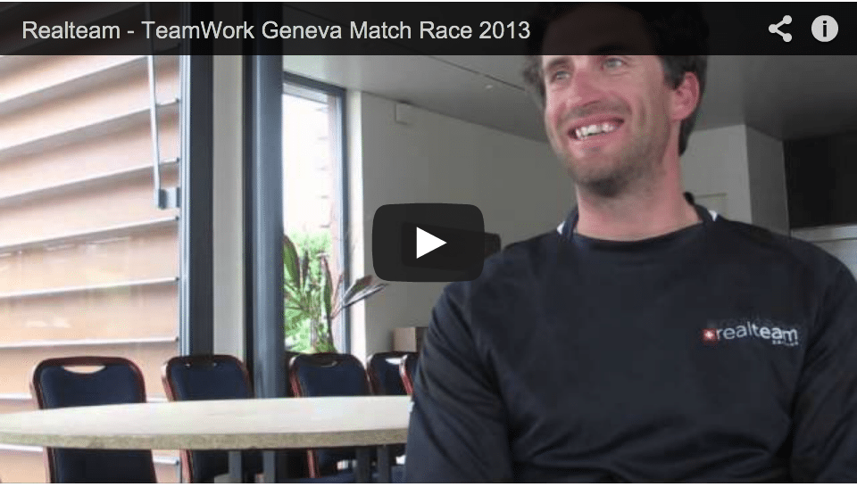 Realteam finishes fifth of the TeamWork Geneva Match Race