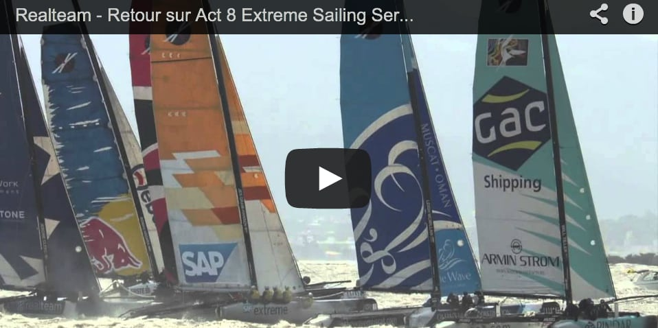 Act 8 Extreme Sailing Series with Arnaud Psarofaghis