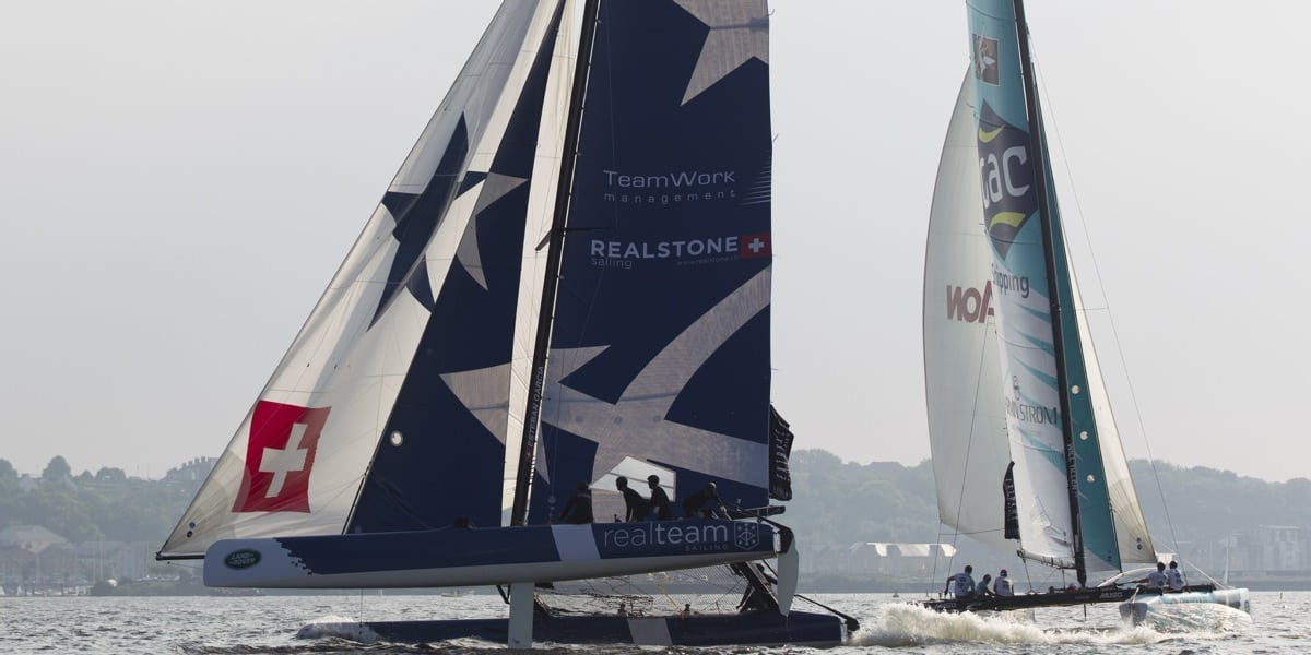 Realteam heads to Cardiff for Act 5 of the Extreme Sailing Series