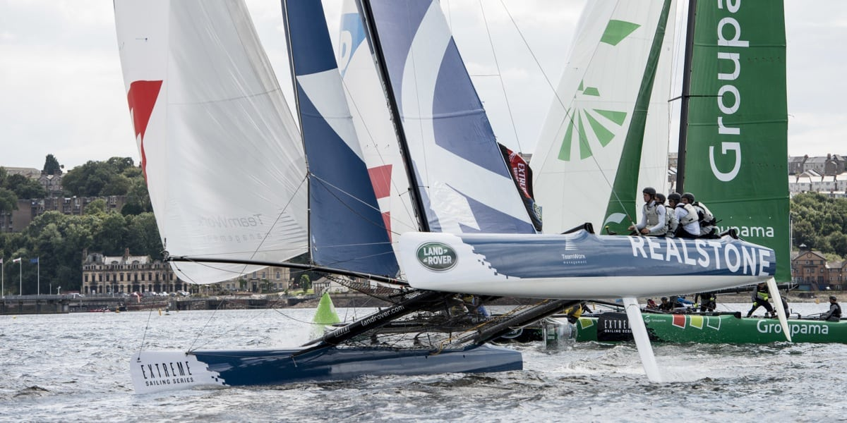 Third overall at the Extreme Sailing Series, Realteam aims to top the bill this weekend in Istanbul