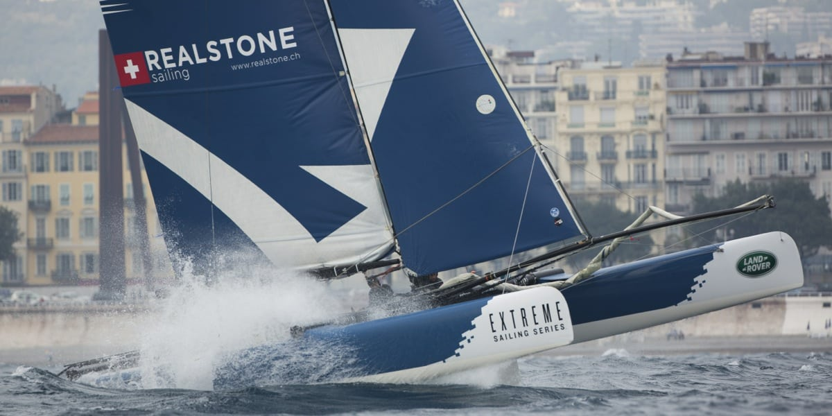 Realteam heads to the Cote d'Azur for penultimate Act of the Extreme Sailing Series in Nice
