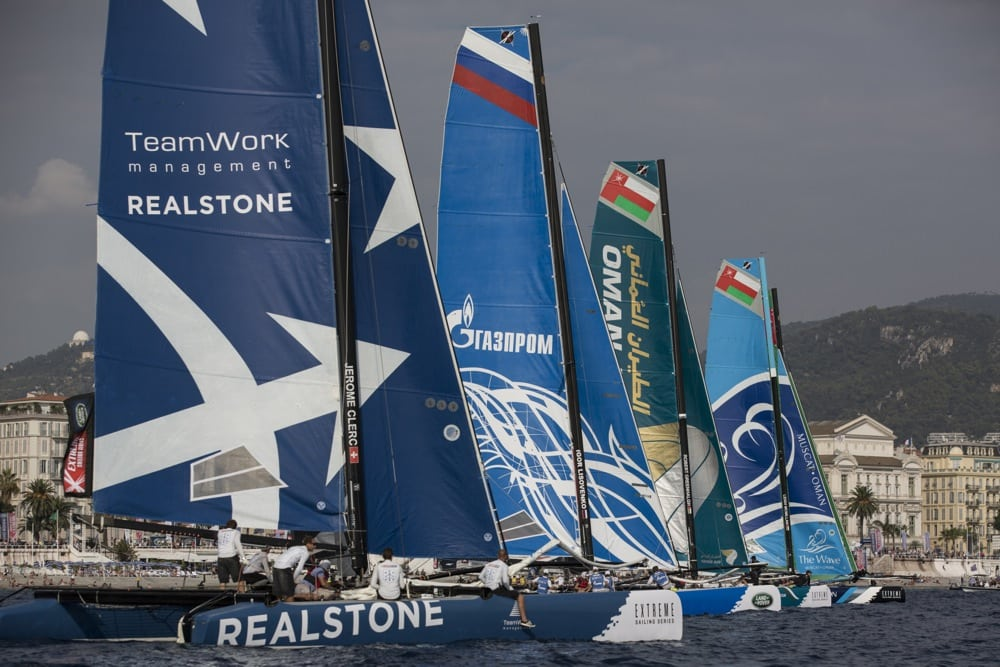 Superb second place for Realteam at Extreme Sailing Series Nice