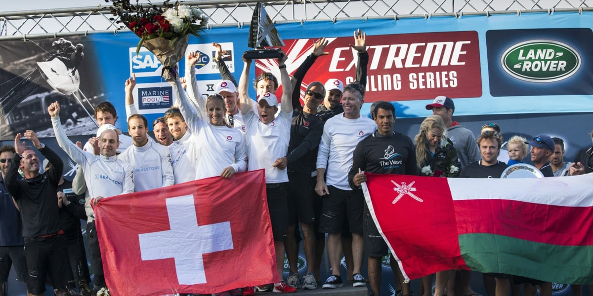 Superb podium finish for Realteam at Extreme Sailing Series championship finale in Sydney