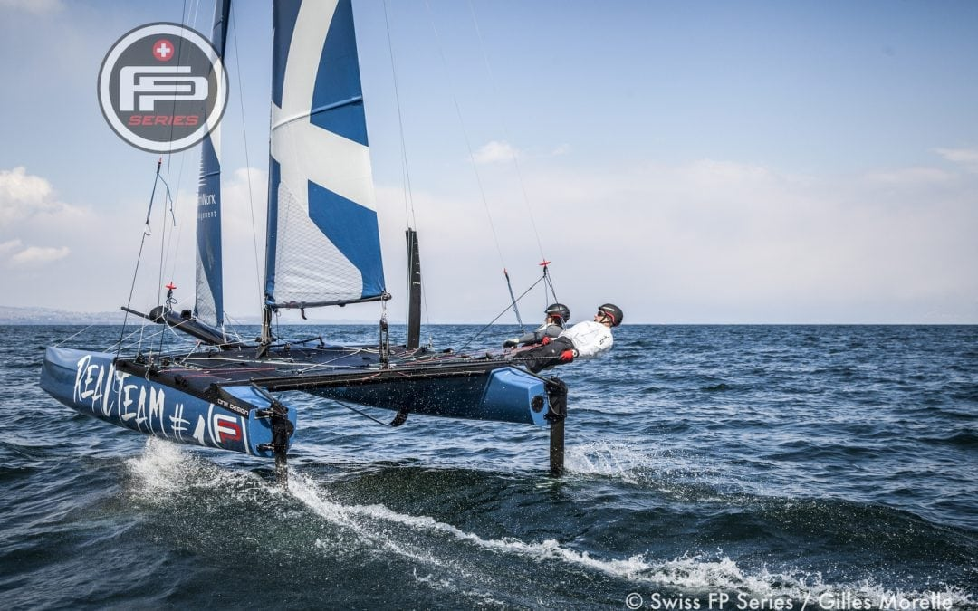 First-place finish at the opening event of the Swiss Flying Phantom Series