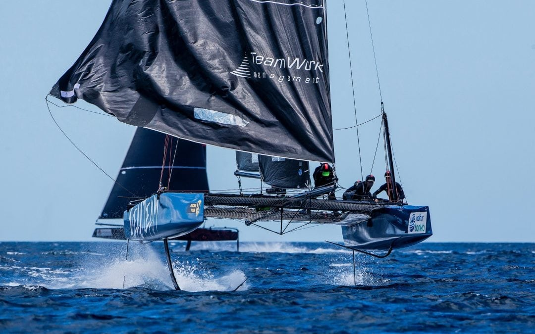 Realteam remains on top after the second stage of the GC32 Racing Tour