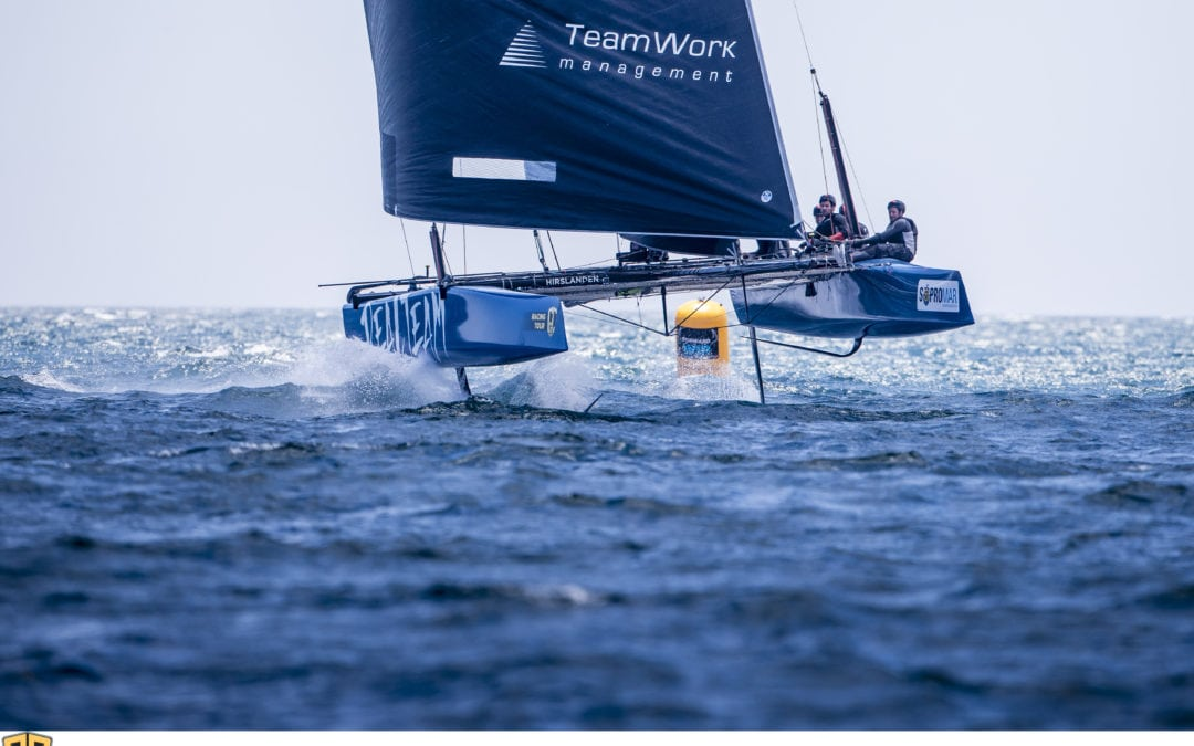 GC32 & Flying Phantom | A week on the theme of foiling